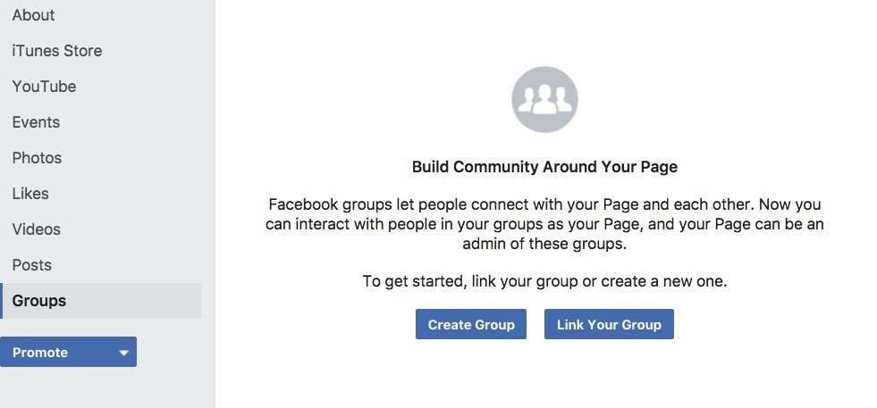 grupy na facebooku nowość