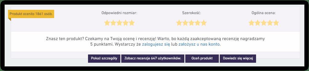 treści tworzone przez użytkowników recenzje